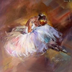 Russian artist, Anna Razumovskaya, creates the most incredible figurative art! Art Ballet, Ballerina Painting, Ballerina Kunst, Anna Razumovskaya, Figurative Kunst, Dance Paintings, Guache, Art Studies, Artist Art