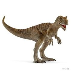 Allosaurus was one of the largest carnivorous dinosaurs. It lived approximately 150 million years ago and used to hunt down herbivorous dinosaurs like Stegosaurus and Diplodocus. Its arms were similar to those of Tyrannosaurus rex: powerful, but extremely Tyrannosaurus Rex, Justice League, Dc Comics, Lion Sculpture, Statue, This Or That Questions, Animals, Fantasy, Dinosaurs