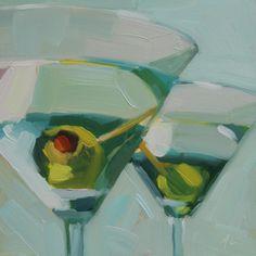 Michael Chamberlain. Colors, negative space, disappearing boundaries