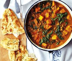 Lamb-Mince Curry