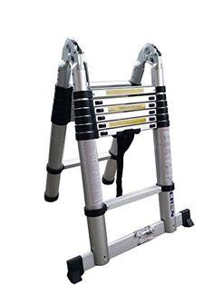 Cren 12.5ft/14.5ft/16.5ft Aluminum Portable Multifunction Telescoping Extension Ladder (14.5ft) CREN http://www.amazon.com/dp/B00VHXPVOO/ref=cm_sw_r_pi_dp_qzfAvb1DEDR1G