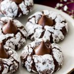 Chocolate Kiss Cookies - thestayathomechef.com Candy Cookies, Cookie Desserts, Yummy Cookies, Holiday Cookies, Holiday Baking, Christmas Desserts, Christmas Baking, Just Desserts, Delicious Desserts