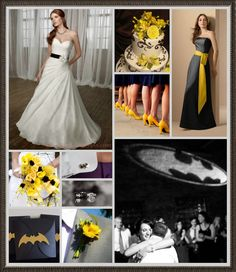 For Jazzmin just replace the batman with the steelers logo! - Batman Wedding - Ideas of Batman Wedding - For Jazzmin just replace the batman with the steelers logo! Batman Wedding, Geek Wedding, Our Wedding, Dream Wedding, Wedding Themes, Wedding Dresses, Bridesmaid Dresses, Perfect Wedding, Getting Married