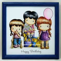 Delphines place: Birthday scene - Copic Marker Europe DT