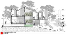 STUDENT TYPOLOGY_SECTION; inverted roof - not net zero