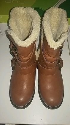 Bottines couleur camel taille 36