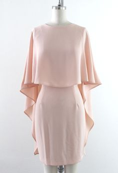 Cape & Flow Dress