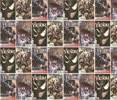 Venom fabric by interrobangart on Spoonflower - custom fabric