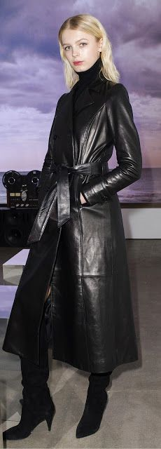 Leather Coat Daydreams: 2017