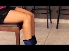 Ginástica em casa com Lu Oliveira - Treino para as coxas - YouTube