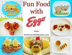 Fun Food for Kids with Eggo Waffles!
