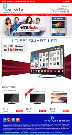 """#PRE-#BLACK #Friday Sale - One day. One product- #LG 55"""" Smart #LED TV"""