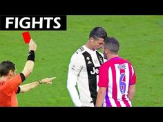 Cristiano Ronaldo - Epic Fights, Red Cards and Moments - YouTube