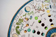 2021 Lunar Calendar / Wheel of the Year Moon Phases / | Etsy Watercolor Print, Watercolor Illustration, Watercolor Paintings, Samhain, Moon Phase Astrology, Free Recycle, Moon Painting, Moon Magic, Moon Phases