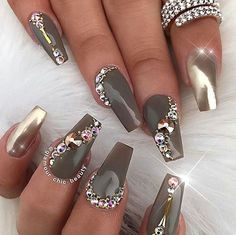 """2,101 Likes, 1 Comments - Ugly Duckling Nails Inc. (@uglyducklingnails) on Instagram: """"Beautiful nails by @glamour_chic_beauty ✨Ugly Duckling Nails page is dedicated to promoting…"""""""