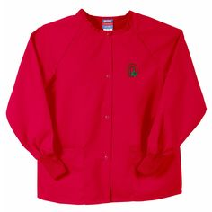0946a462262 Gelscrubs Unisex Ncaa Ohio State Buckeyes Crew-Neck Nurse Jacket Nursing  Jackets, Scrub Pants