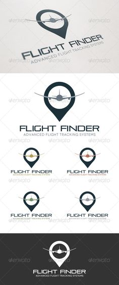 Buy Flight Finder Logo by MakeMediaCo on GraphicRiver. Flight Finder Logo comes in both an original and inverse version. Four additional colors have also been included. Business Branding, Logo Branding, Logo Ad, Logo Design Template, Logo Templates, Flight Finder, Aviation Logo, Horse Logo, Dog Logo
