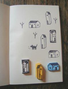 House Stamps - Marina Stimolo