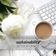 How to Encourage Sustainability in Your Office – A Healthy Blueprint Disposable Coffee Cups, Disposable Plates, American Drinks, Waste Solutions, Plastic Free July, Save My Money, Green Office, Leftovers Recipes, Sustainability