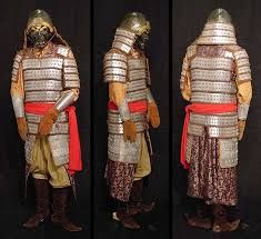 Armor from the Shang Dynasty.