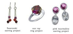 Ways to Make Pantone's 2014 Color of the Year, Radiant Orchid, work in your jewelry
