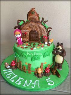 Masha and the bear cake love it