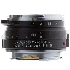 Voigtlander Nokton 40mm f/1.4 Wide Angle Leica M Mount Lens - Black - #AdoramaGear
