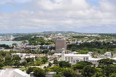 the island of Guam This is the capital city of Agana
