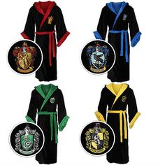 Harry Potter House Robes - Hmmm... This might be the PERFECT Christmas present for someone...