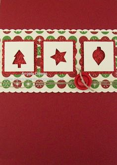 Stampin' Up!, Christmas, Merry Mini Punch Pack
