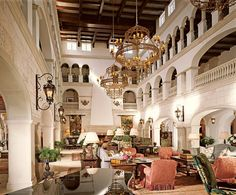 The Cloister at Sea Island, Georgia. Perfect vacation resort. Love to play Bingo there!