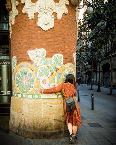 #casavicens #gaudi #barcelona #spain #urban #urbanart #barceloneta #barcelonastreetphotography...