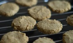 Healthy black and white cookies