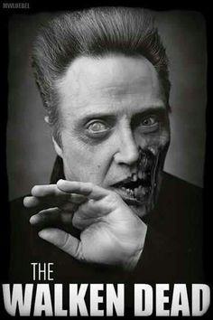zombie Walken! have mark help make us into zombies for Halloween