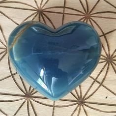 A beautiful #blueonyx  heart from @thesagegoddess ! Few things capture my heart. Fewer my breath and rare that capture both. This beautiful  specimen of Blue Onyx has my spirit heart breath and mind all completely mesmerized. Sharing it's beautiful energies with you.  #nofilter #crystals #crystalhealing #crystalmagic #crystallove #crystalporn #grace #beauty #nature #magic #takesmybreathaway by shininginlove
