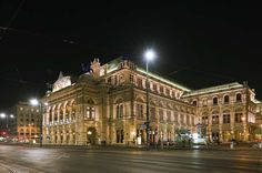 Wiener Staatsoper in Austria is one of Europe's most famous opera houses and has been operating since the 19th century