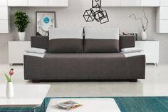 Pohovka trojsedačka Tango 3R (tmavohnedá + béžová)   NovýNábytok.sk Sofa, Couch, Tango, Bed, Furniture, Home Decor, Settee, Settee, Stream Bed