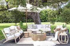 Summer's coming ☀️ who needs to spruce up their outdoor area...? Our outdoor/indoor Camps Bay three seater Sofa and Arm Chair, perfect with UV protected, water & mould resistant fabric and teak frame in a reclaimed aged finish. Also showing our Clifton Beach Coffee Table, Malawi Chairs, Stacks Stool, Ripple Stool & Crabo Side Table.