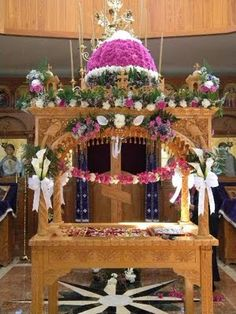 Epitaphio, Burial Tomb of Christ, Holy Friday
