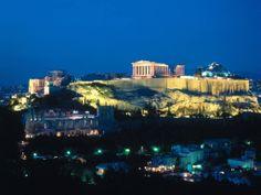 Atenas de noite