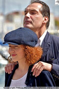 """Blandine Bellavoir & Samuel Labarthe (""""Les Petits Meurtres d'Agatha Christie"""") - Festival de la fiction TV de La Rochelle"""