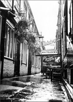 Leeds. Whitelock's. 1960s.