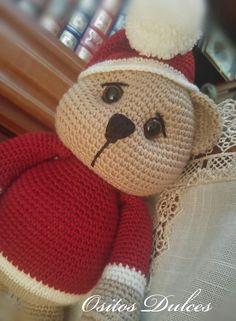 Christmas Bear #Ositos Dulces  #Doll crochet #Amigurumisdolls #Crochet #Muñeca a crochet #Ganchillo #dollcrochet #Amigurumis #osita a crochet #Amigurumipattern #Doll #Dollspatterns #Amigurumibear  #Teddy bear