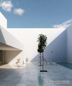 Casa Guerrero / Antonio Rodríguez - Learn V-Ray