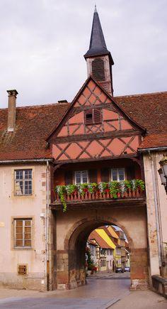 Rosheim in Alsace, France ~ ღ ~ Skuwandi