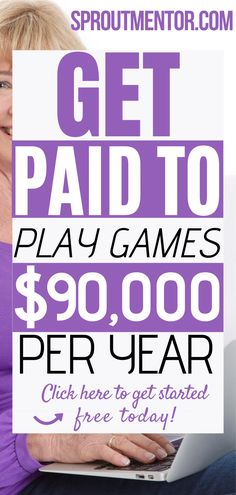 Did you know you can get paid to play games online? This is a very simple side hustle ideas which will help you to make money online during your spare time. Another advantage is that it will allow you to work from home or any other remote location you love. #onlinejobs #workfromhomejobs #getpaidtoplaygames #games #money #finance #makemoneyonline #jobs