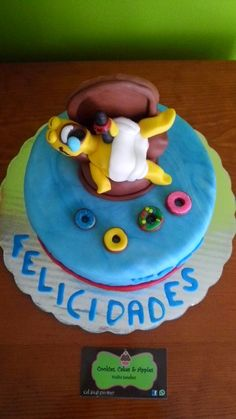 Homero simpson cake