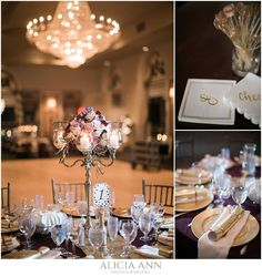 New Years eve wedding reception ideas taken at the Bond Ballroom