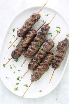 Brochettes de kefta à la marocaine - Cuisine Culinaire