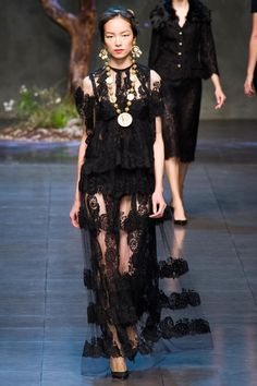 SPRING 2014 RTW DOLCE & GABBANA COLLECTION